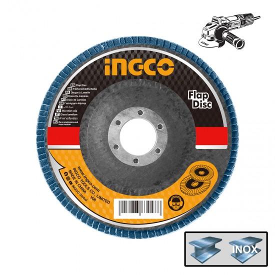 Δίσκος Λείανσης Fiber INOX FDZ1253 INGCO