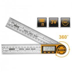 Ψηφιακός γωνιακός χάρακας HDAR20701 INGCO