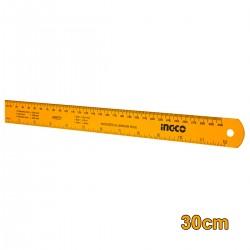 Χάρακας - ρίγα Αλουμινίου 30cm HSR23002 INGCO