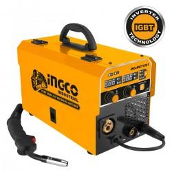 Ηλεκτροκόλληση Inverter 160Α Σύρματος με Αέριο και Χωρίς Αέριο MGT1601 INGCO