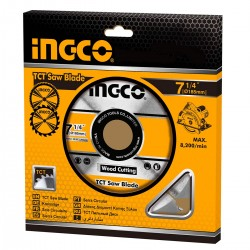 Δίσκος Κοπής Ξύλου 187mm TSB118510 INGCO