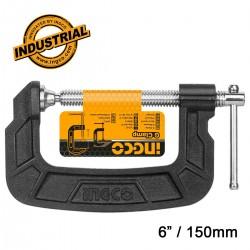 """Επαγγελματικός Σφιγκτήρας τύπου G   6"""" / 150mm HGC0106 INGCO"""