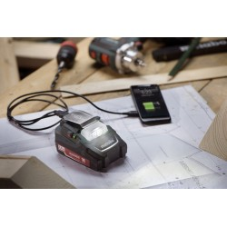 Αντάπτορας μπαταρίας PA 14.4-18 LED-USB Metabo