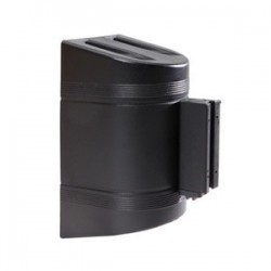 Εκτεινόμενος ιμάντας τοίχου σε μαύρο χρώμα μήκους 5m με μαύρο πλαστικό κέλυφος WBBL-500