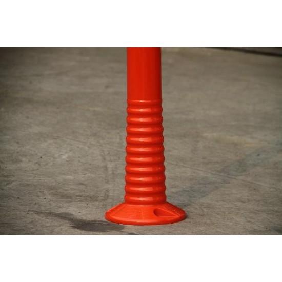 Πλαστικό εύκαμπτο κολωνάκι σήμανσης PU ύψους 75 cm ενισχυμένο KDH-FP-80-PU