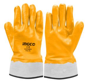 Γάντια Νιτριλίου Βαριάς Χρήσης HGVN01 INGCO